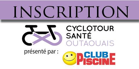 Inscription - Cyclotour santé Outaouais